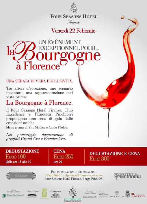 Borgogna a Firenze - Four Seasons