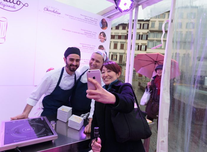 fiera del cioccolato cooking show chocolate chef
