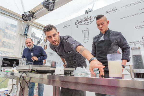 fiera del cioccolato cooking show