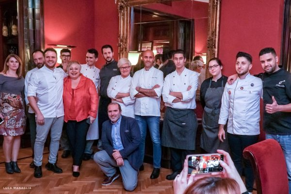 cena chef regency hotel firenze